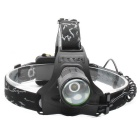 ZHISHUNJIA 8089-T6 XM-L T6 LED 3-Mode White Headlamp - Black + Green