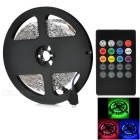 JRLED 24W 300-LED lys stripe RGB 2400lm w / Musikk LED Controller (5m)