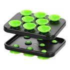 Cwxuan 360' Rotatable Phone Holder w/ Suction Cups - Green + Black