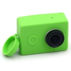 Protective Soft Silicone Case Cover for Xiaomi Xiaoyi Camera - Green