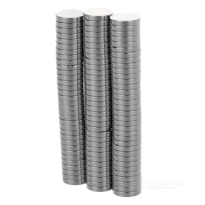 D5*1mm Round Magnet - Silver (100PCS)Magnets Gadgets<br>ColorSilverMaterialMagnetQuantity1 SetNumber100Suitable Age 5-7 Years,8-11 Years,12-15 Years,GrownupsPacking List100 x Magnets<br>
