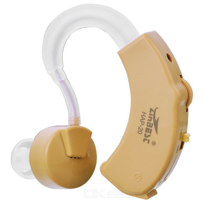 Buy Behind Ear Sound Voice Amplifier Hearing Aid (1*L1154) with Litecoins with Free Shipping on Gipsybee.com