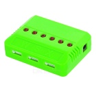 730mAh X6A-B03 Battery Accessories Kit - Red + Green + Multicolored