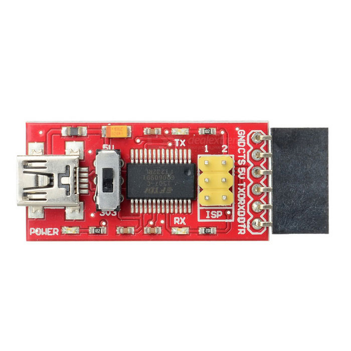 Funduino FTDI Basic Program Downloader USB to TTL ET232 Module