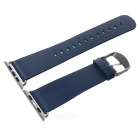 42mm Super Fiber Watch Band w/ Attachments for APPLE Watch - Blue