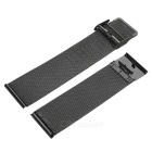 42mm Stainless Steel Watch Band w/o Attachment for APPLE Watch - Black
