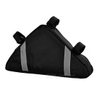 Yanho YA085 Cycling Oxford Cloth Bike Top Tube Triangle Bag - Black
