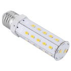 E27 12W LED Corn Light Bulb Warm White 1080lm 32-SMD - White + Orange