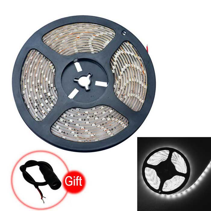 Buy JIAWEN Waterproof 25W LED Strip Lamp Cold White Light 2000lm (5m) with Litecoins with Free Shipping on Gipsybee.com