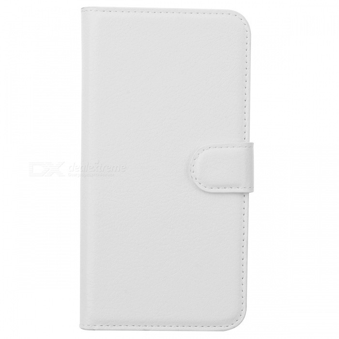 Lychee Pattern PU Case w Card Slots for Samsung Grand Prime