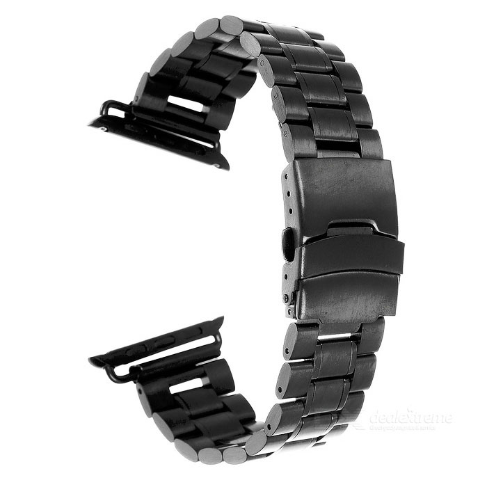 Mini Smile 42mm Watch Band w/ Attachments for APPLE Watch - Black