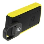 6W 180lm 6500K White COB LED Tool Light Lamp - Yellow + Black