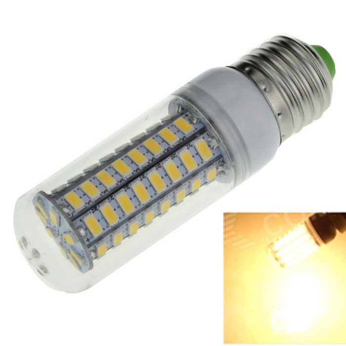 Buy E27 12W Corn Bulb Lamp Warm White 1600lm 72-SMD 5730 with Litecoins with Free Shipping on Gipsybee.com