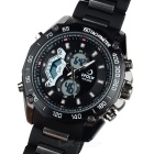 HPOLW Men's Resin Band Analog + Digital Watch - Black (1*CR2025)