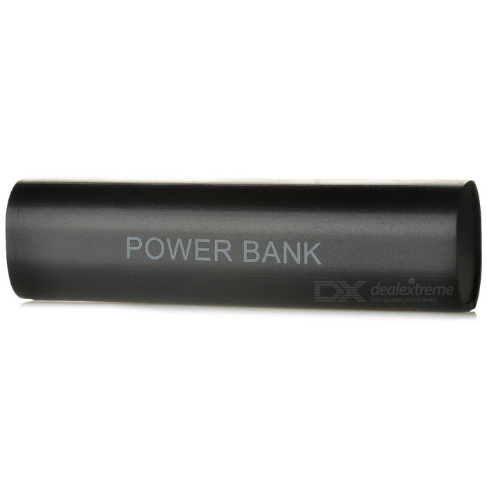 Cwxuan Push-Pull Style 1*18650 Power Bank Case for IPHONE - Black