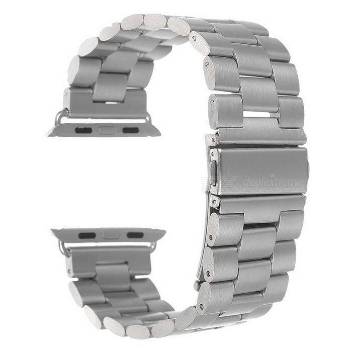 Mini Smile Watch Band w/ Attachments for 42mm APPLE WATCH - SilverWearable Device Accessories<br>Form ColorSilverQuantity1 DX.PCM.Model.AttributeModel.UnitMaterialStainless steelPacking List1 x Band w/ attachments<br>