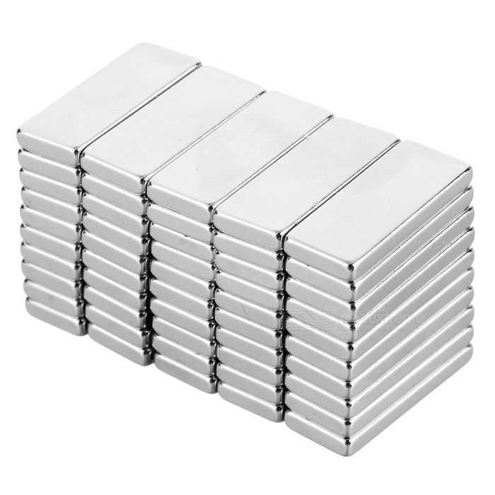 25 x 10 x 3mm NdFeB Magnets (50 PCS)Magnets Gadgets<br>Form ColorSilverMaterialNdFeBQuantity1 setNumber50Suitable Age 12-15 years,Grown upsPacking List50 x Magnets<br>