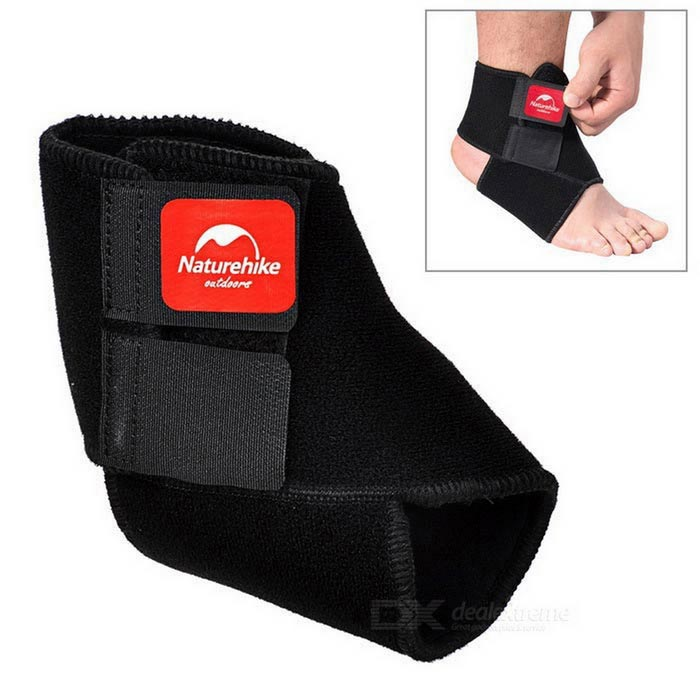 NatureHike Super Protective Adjustable Ankle Band - Black