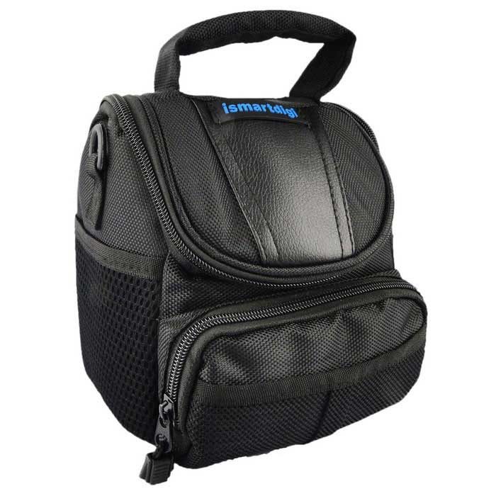 Buy Ismartdigi I-T002 Camera Bag for Nikon, Canon, Sony - Black with Litecoins with Free Shipping on Gipsybee.com