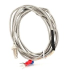 K-Type Thermocouple Connection Cable Set - Silver (190cm / 4PCS)
