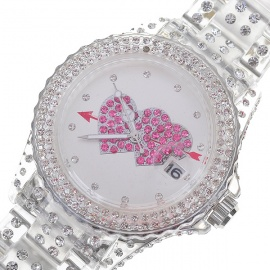 Silver-PVC-Cute-Shiny-Crystal-Wrist-Watch-Red-Hearts-(1*377S)