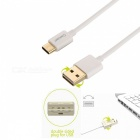 Cwxuan USB 3.1 Type C to USB 2.0 Charging & Data Sync Cable - White