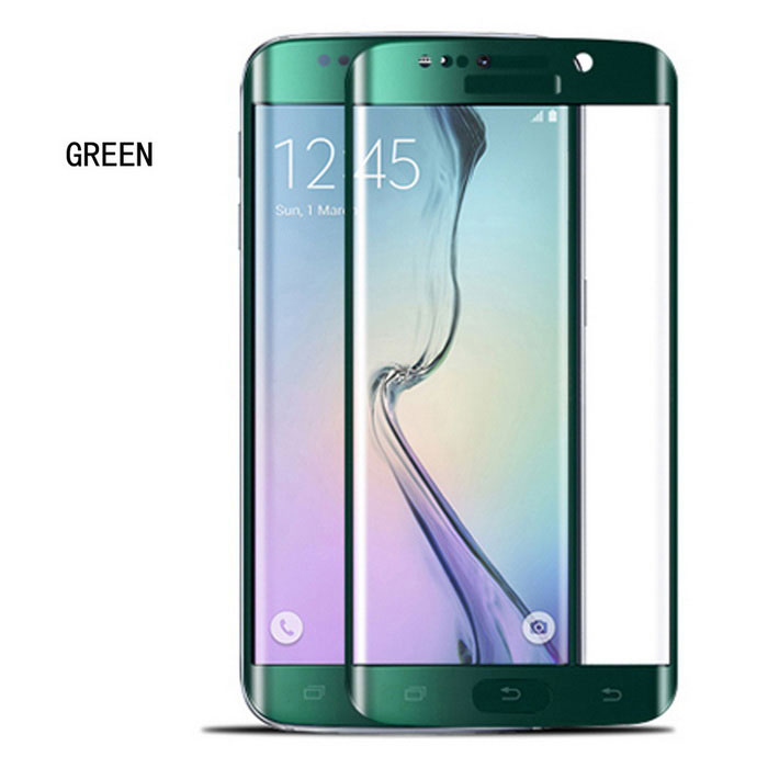 ASLING 0.2mm Full Tempered Glass Film for Samsung S6 Edge - GreenScreen Protectors<br>Form ColorGreenScreen TypeGlossyModelN/AMaterialTempered glassQuantity1 DX.PCM.Model.AttributeModel.UnitCompatible ModelsSamsung Galaxy S6 EdgePacking List1 x Screen protector1 x Cleaning cloth1 x Wipes1 x Alcohol prep pad<br>