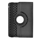 Protective 360' Rotary TPU + PU Case for IPAD MINI 2 / 3 - Black