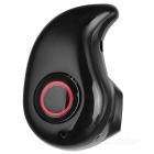 Sports Stereo Hidden Bluetooth V4.1 Headset w/ Voice Prompt - Black