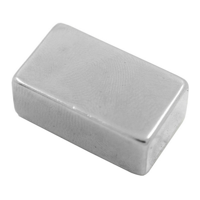25mm*15mm*10mm Rectangle NdFeB Neodymium Magnet DIY Set - Silver