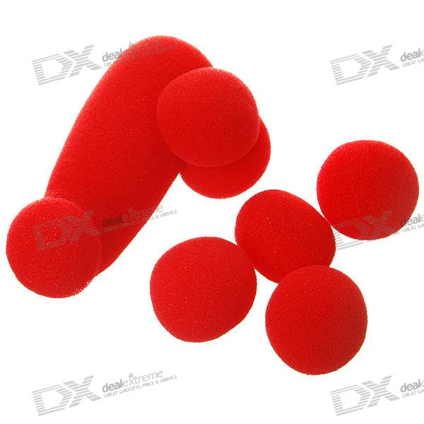 Sponge Balls Magic Set - Red