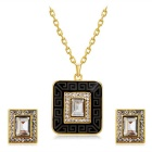 Retro-Square-Style-Crystal-Pendant-Necklace-for-Women-Golden-2b-Black