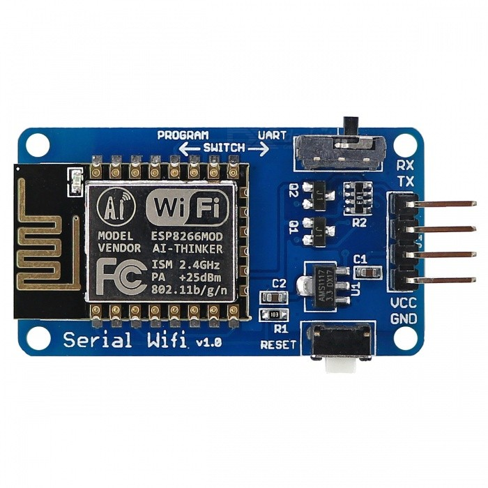 Buy OPEN-SMART ESP-12 ESP8266 Serial Wi-Fi Wireless Module for Arduino with Litecoins with Free Shipping on Gipsybee.com
