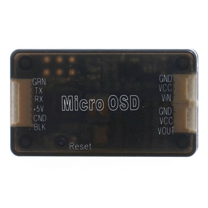 HJ Micro OSD for Pixhawk PX4 Flight Controller Quadcopter - Black
