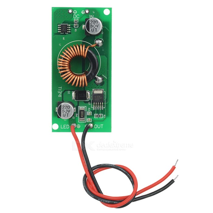 JRLED 30W 3P10S Low Voltage LED Power Driver (DC 12-24V)LED Power Drivers<br>MaterialAluminum alloy + Fiberglass panelForm ColorSilver + Green + Multi-ColoredQuantity1 pieceWater-proofNoInput VoltageDC 12-24 VOutput Voltage30-36 VWorking Temperature-20-70 ?Output Current900 mAInput Current6 ARated Working VoltageDC 12-24 VWorking Current900 mADimmerLED constant current power driverOther FeaturesWith radiator in its back.Packing List1 x LED driver (19cm±2cm)<br>