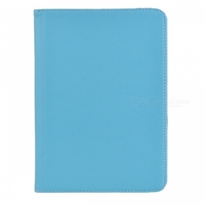 360' Rotation Case w/ Stand for Samsung Galaxy Tab S2 9.7 - Light Blue