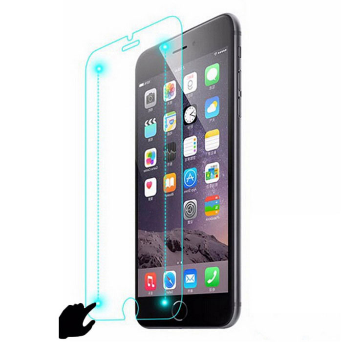 Smart Touch Tempered Glass Screen Film for IPHONE 6 PLUS - Transparent