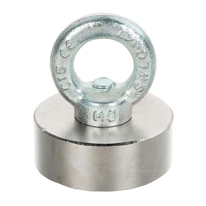 D50*20mm-NdFeB-Eyebolt-CiRCular-Ring-Magnet-for-Salvage-Silver