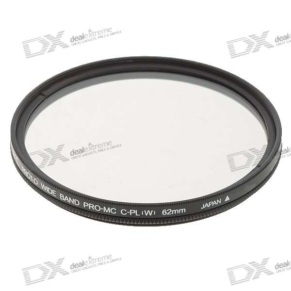 PRO1-D DMC Ultra-Thin Multi-Coated CPL Camera Filter - Black (62mm)