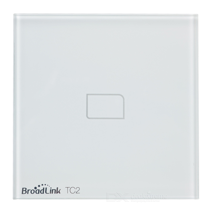 BroadLink TC2 1-CH Smart Home Wall Light Switch by IOS, Android - Us/Au