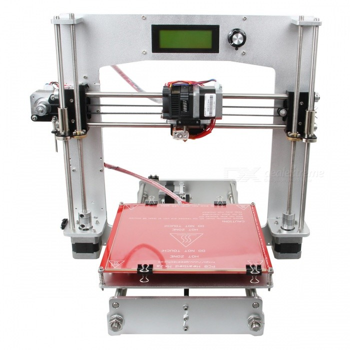 Buy Geeetech Prusa I3 3D Printer (1.75 mm Filament / 0.3 mm Nozzle) with Litecoins with Free Shipping on Gipsybee.com
