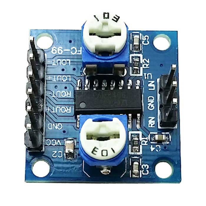 2*5W PAM8406 Digital Amplifier BoardBoards &amp; Shields<br>Form ColorWhite + Blue + Multi-ColoredModelNoQuantity1 DX.PCM.Model.AttributeModel.UnitMaterialPCBChipsetPAM8406English Manual / SpecYesPacking List1 x Amplifier board<br>