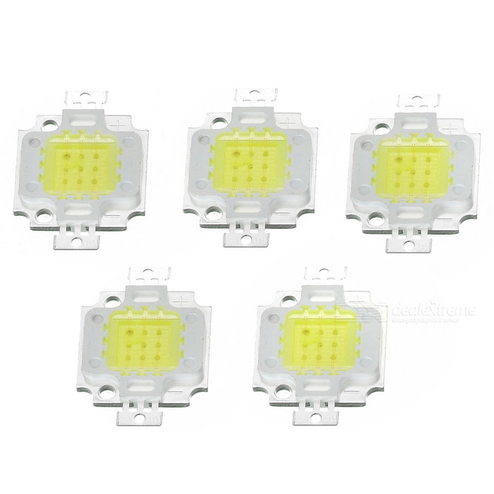 JRLED 10W Coral Growth LED Light Emitter Board Bluish White (5PCS)