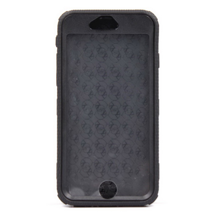 Shockproof Plastic Case Cover for IPHONE 6 - Black