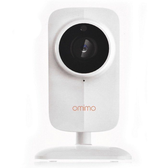 Fotocamera IP Wireless OMIMO S510 1.0MP HD - Bianco (connettori Usa)
