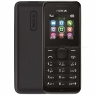 Nokia 1050 (RM-1120) GSM Cellphone w/ 1.8″ TFT LCD, Dual Band, FM, MP3 Player & TF Slot – Black