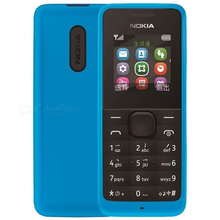 Nokia 1050 (RM-1120) GSM GSM 1.8 TFT LCD, 8MB ROM