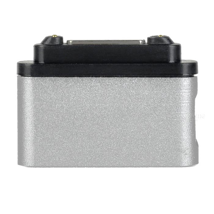 Magnetic Connector w/ Micro 5-Pin, Indicator for Sony Z3/Z2 - SilverAdapters &amp; Converters<br>Form ColorSilverMaterialAluminium alloyQuantity1 DX.PCM.Model.AttributeModel.UnitCompatible ModelsSony Z3 / Z3 mini / Z2 / Z2A / Z1 / Z1 Mini / ZU / XL39h / L39hMain FunctionsCharging / indicatorConnectorMagnetic interfacePacking List1 x Connector<br>