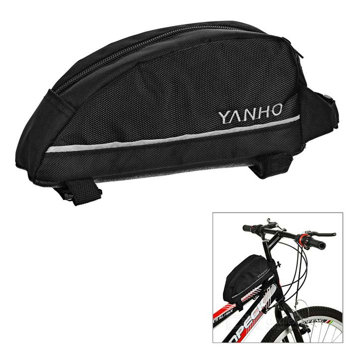 Yanho Bicycle Bike Oxford Cloth Top Tube Bag - Black (2L)