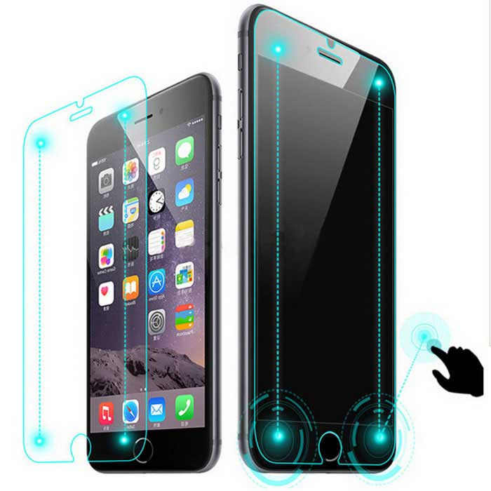 ASLING Smart Touch Tempered Glass Film for IPHONE 6 PLUS - TransparentScreen Protectors<br>Screen TypeClearModelASL-241Quantity1 DX.PCM.Model.AttributeModel.UnitMaterialTempered glassForm ColorTransparentCompatible ModelsIPHONE 6 PLUSStyleScreen protectorScreen FeaturesScratch Proof,Fingerprint Proof,Explosion Proof,Anti GlarePacking List1 x Tempered glass film1 x Dust remover1 x Professional screen wipes 1 x Alcohol prep pad<br>